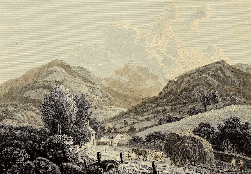 Select Views in Great Britain - View at Ambleside (1813)