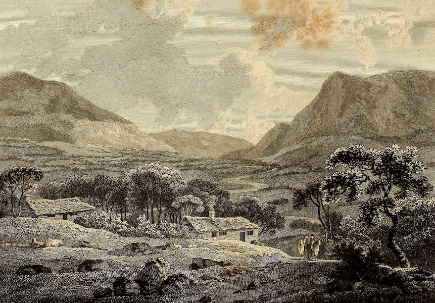 Select Views in Great Britain - View near Caernarvon (1813)