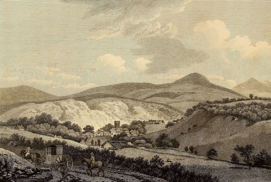 Select Views in Great Britain - View of Lewes (1813)