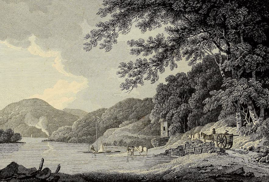 Select Views in Great Britain - View on the River Tamar (1813)