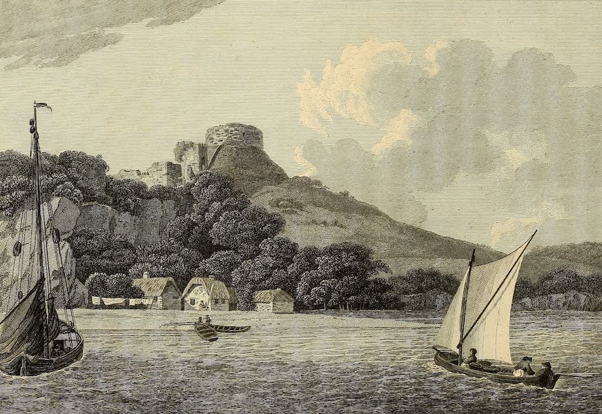Select Views in Great Britain - A View of Trematon Castle (1813)