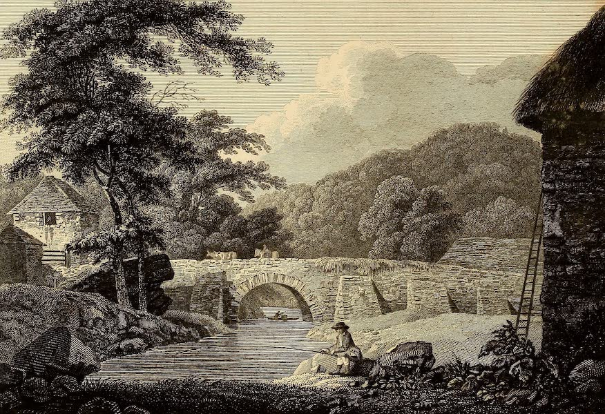Select Views in Great Britain - View of Western Mills (1813)