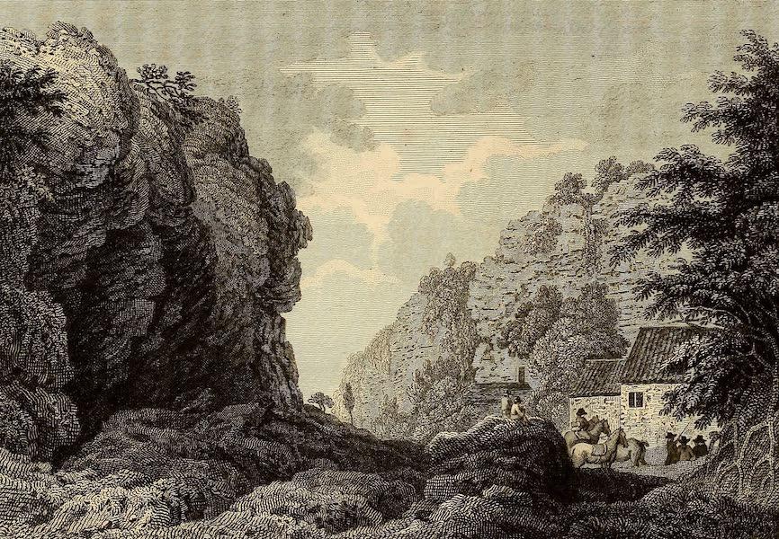 Select Views in Great Britain - Creswel Crag (1813)