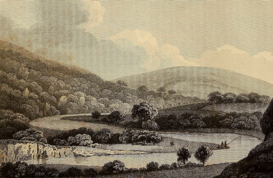 Select Views in Great Britain - View on the River Tamer (1813)