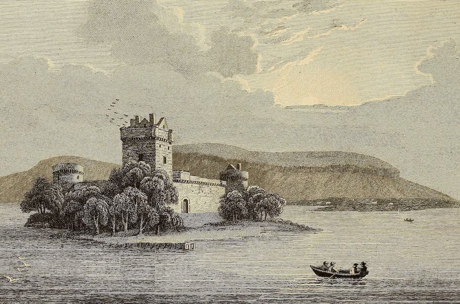 Select Views in Great Britain - View of Loch Leven Castle (1813)
