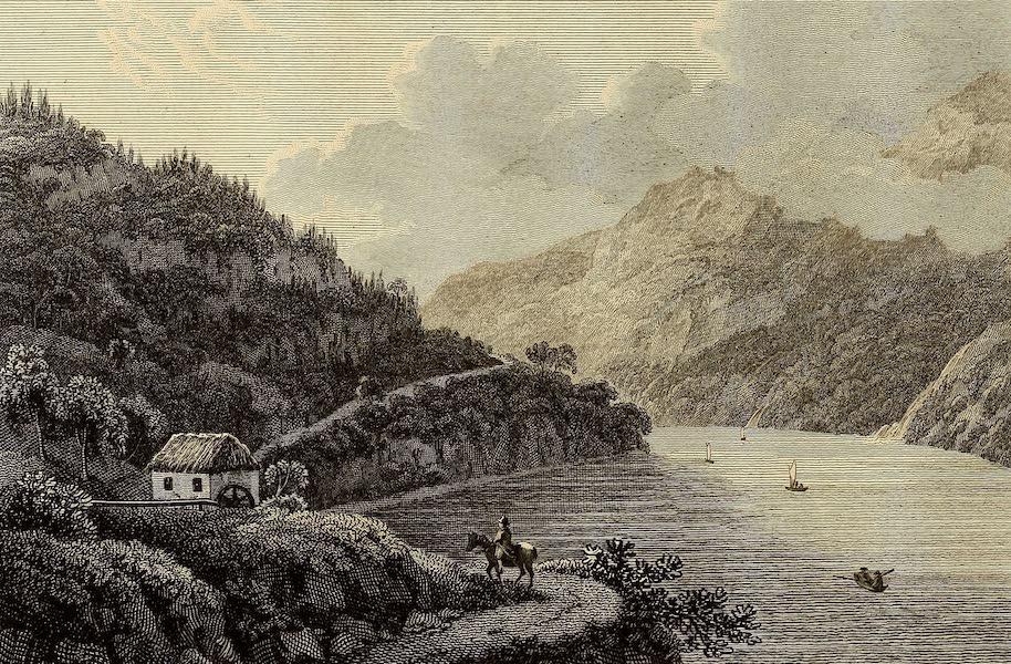 Select Views in Great Britain - View on Loch Lomond Lake (1813)