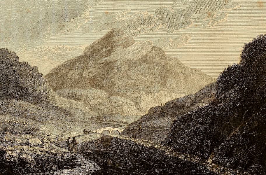 Select Views in Great Britain - A View of Ben Eim (1813)