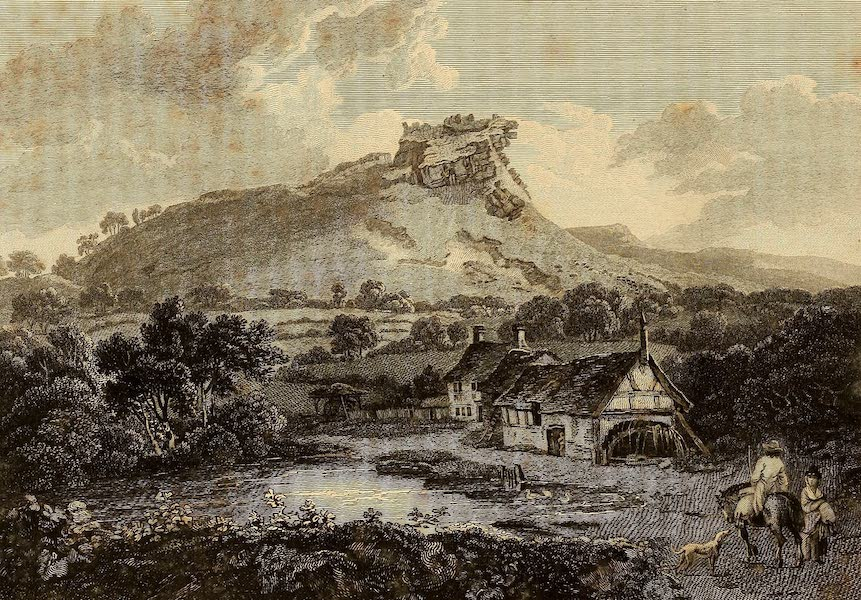 Select Views in Great Britain - Beeston Castle (1813)