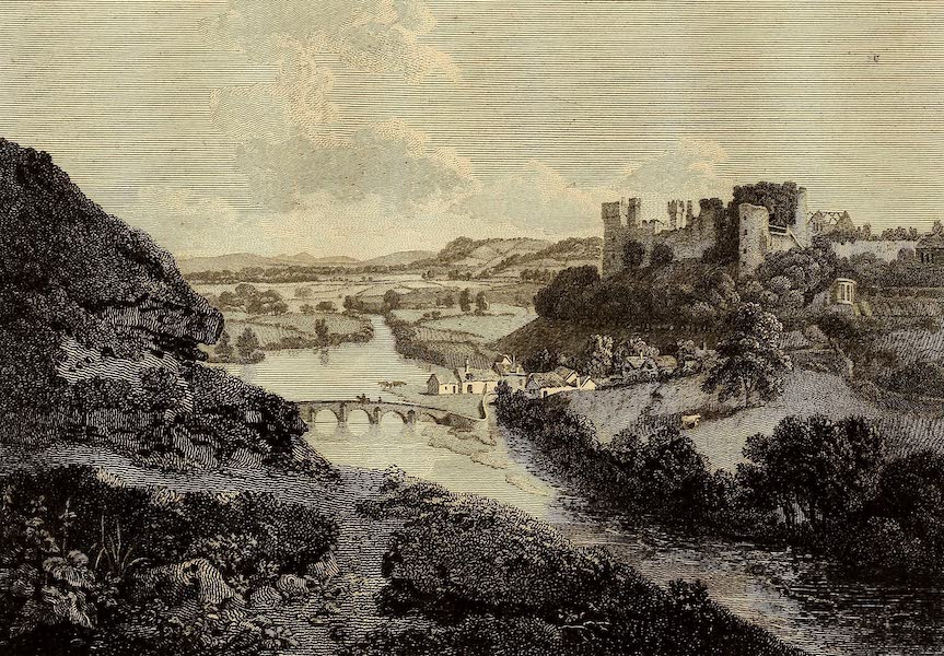 Select Views in Great Britain - Ludlow Castle (1813)