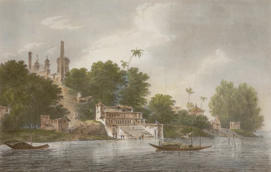 Select Views in India - A View of Part of the City of Oudh (1797)