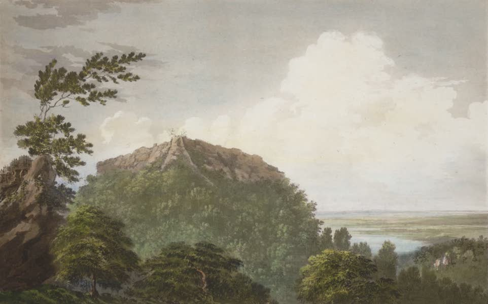 Select Views in India - A View of the Fort of Bidjegur (1797)