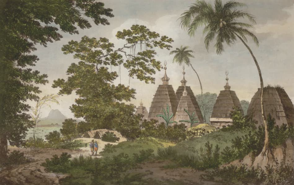 Select Views in India - A View of the Pagodas at Deogar (1797)
