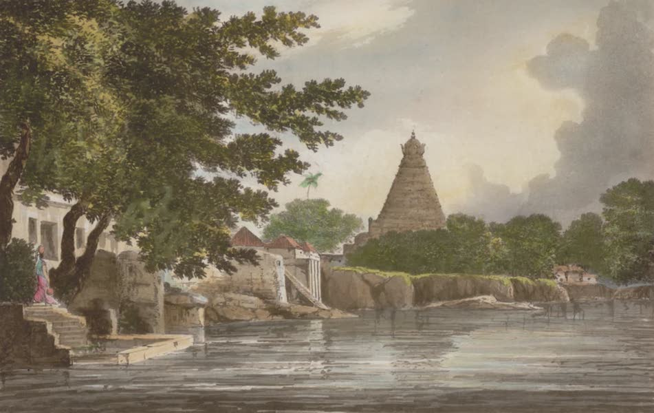 Select Views in India - A View of the Great Pagoda at Tanjore (1797)