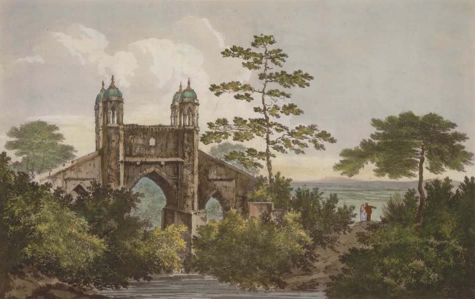 Select Views in India - A View of the Bridge over Oodooanulla (1797)