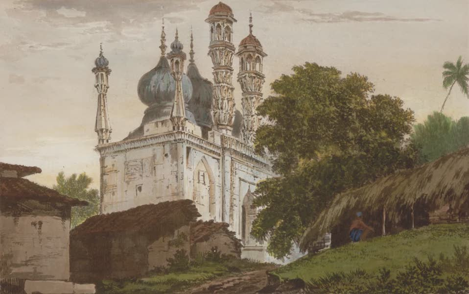 Select Views in India - A Mosque at Gazipoor (1797)