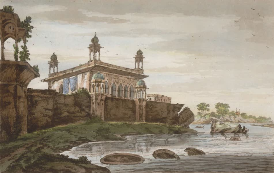 Select Views in India - A View of Part of the Palace of the late Nabob Suja ul Dowla at Fizabad (1797)
