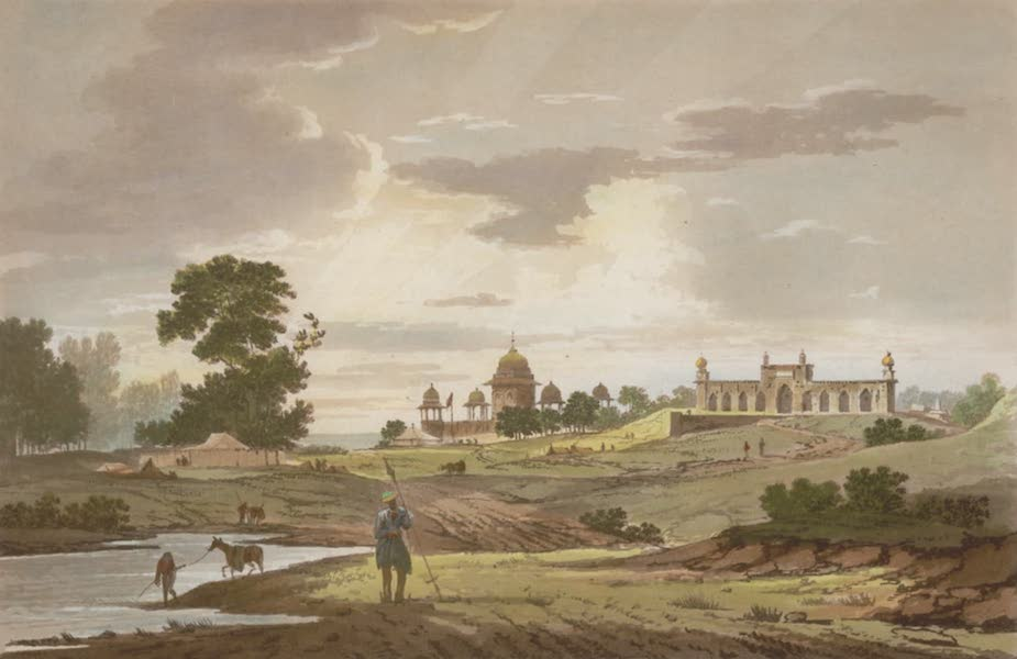 Select Views in India - A View of Firozeabad (1797)