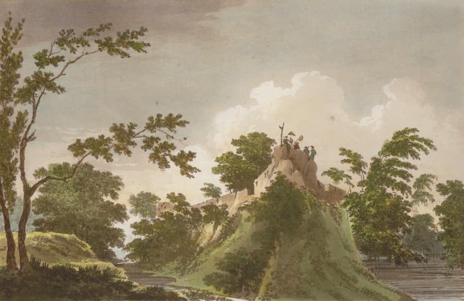 Select Views in India - A View of the Fort of Peteter (1797)