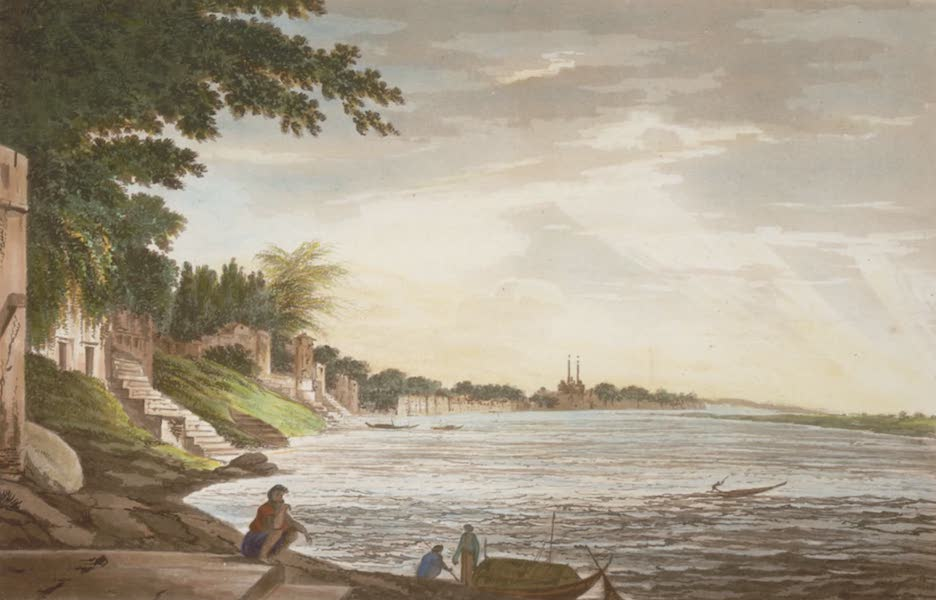 Select Views in India - A View of the City of Benares (1797)