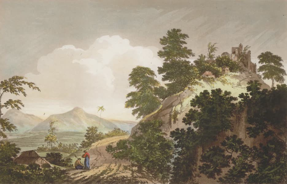 Select Views in India - A View of the Pass of Sicri Gully (1797)
