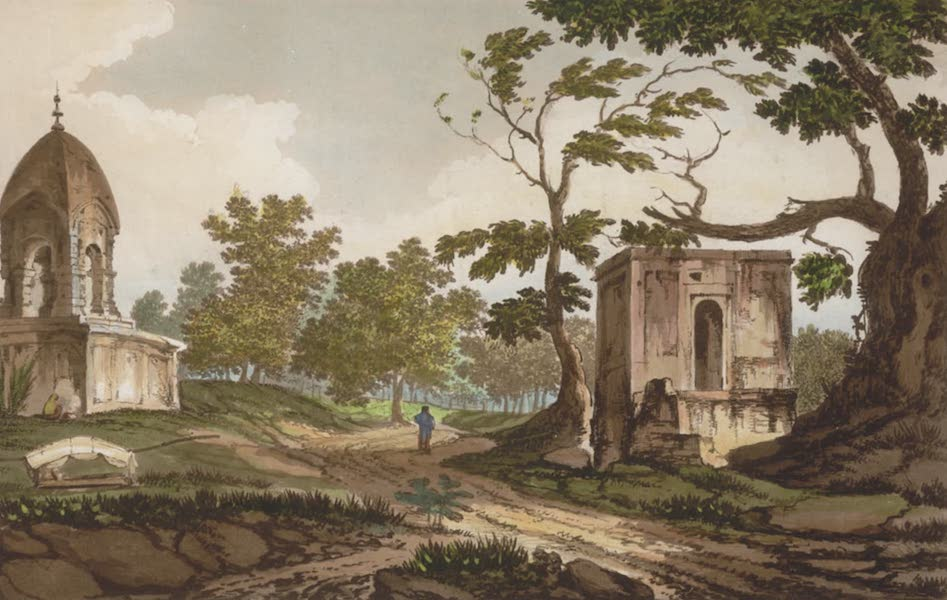 Select Views in India - A View of a Hindoo Monument (1797)