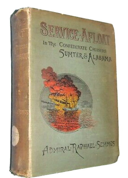 Service Afloat - Book Display I (1887)