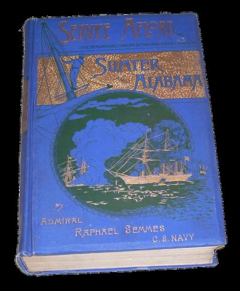 Service Afloat - Book Display II (1887)