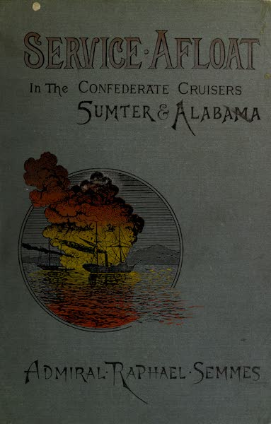 Service Afloat - Front Cover (1887)