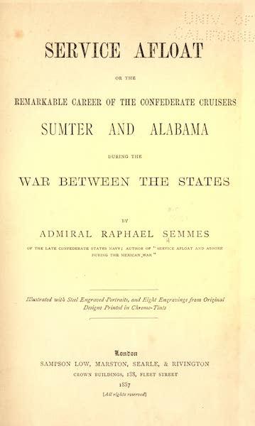 Service Afloat - Title Page (1887)