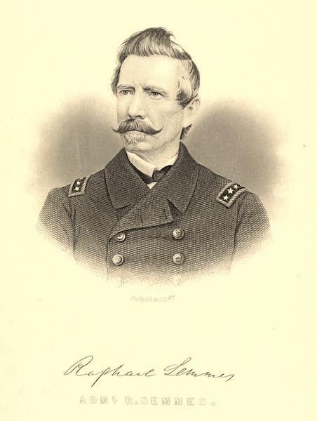 Service Afloat - Portrait of Raphael Semmes (1887)