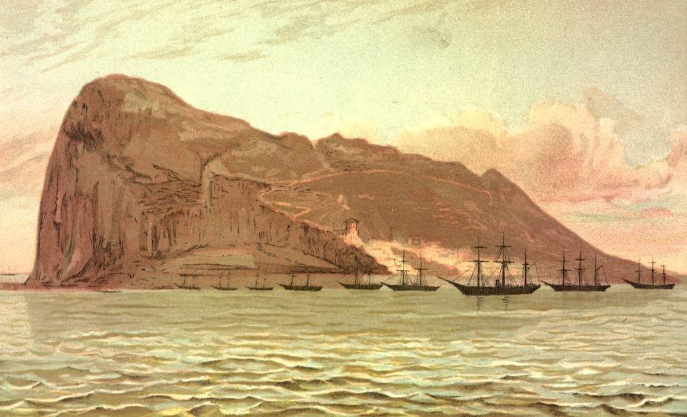 Service Afloat - The Sumter, Kearsarge and Tuscarora at Gibraltar (1887)