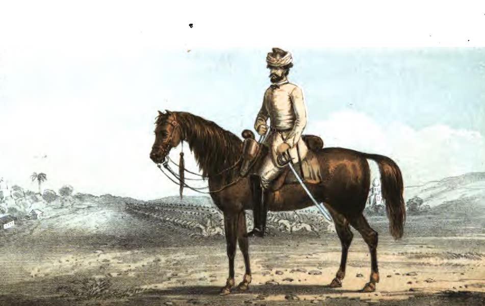 Service and Adventure with the Khakee Ressalah - A Volunteer Trooper of the Meerut Khakee Ressalah [Frontispiece] (1858)