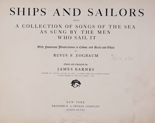 Music - Ships and Sailors