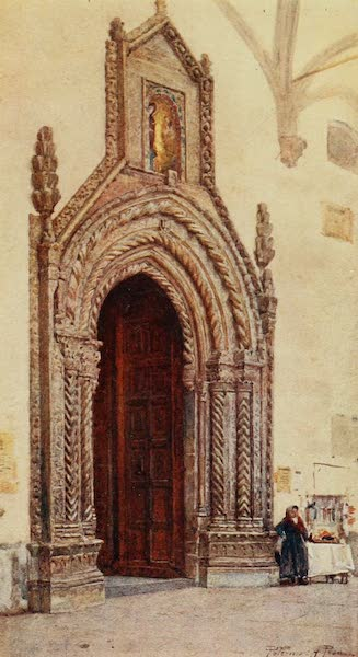 Sicily, Painted and Described - South Doorway of Cathedral, Palermo (1911)