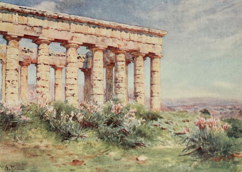Sicily, Painted and Described - Temple of Segesta (1911)