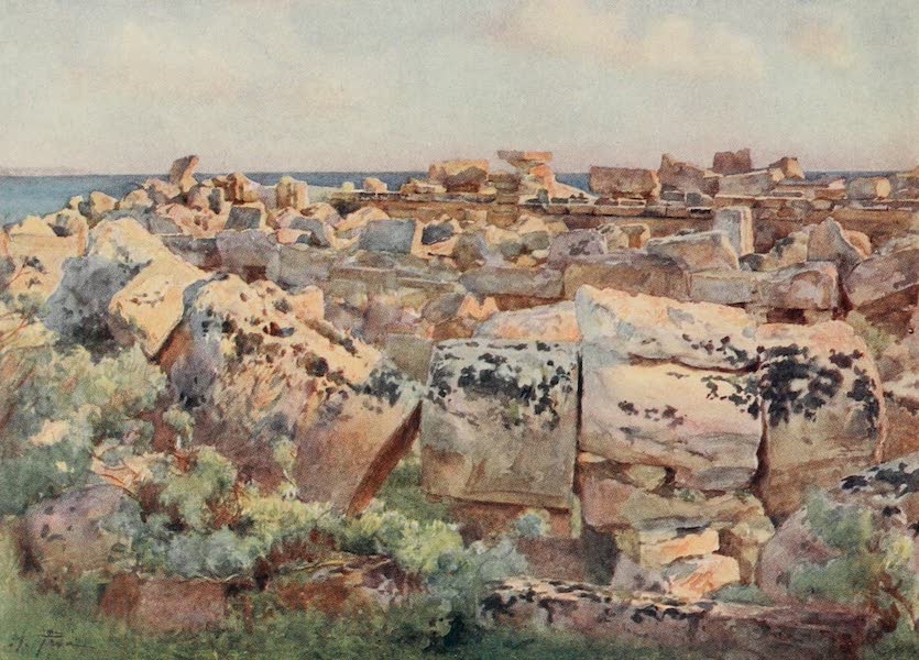 Sicily, Painted and Described - A Dead City, Selinous (1911)