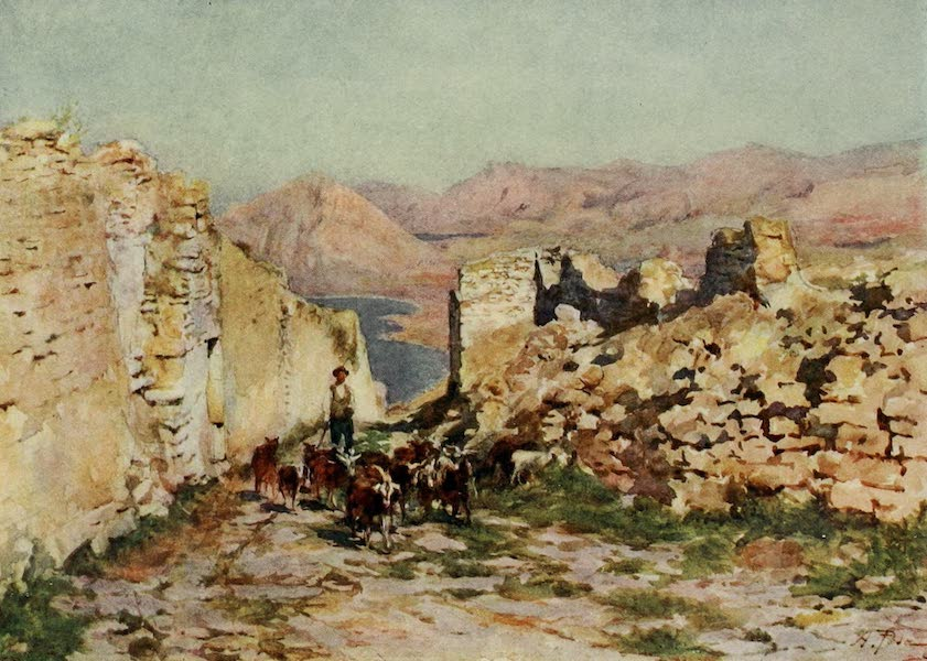 Sicily, Painted and Described - Monte San Giuliano, the Ancient Eryx (1911)