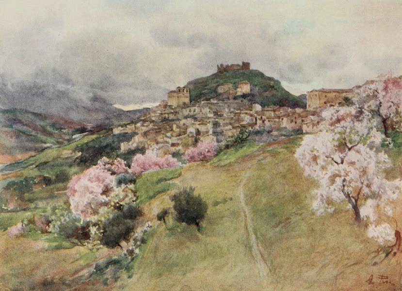 Sicily, Painted and Described - Girgenti from the West (1911)