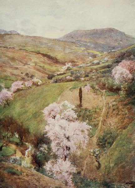 Sicily, Painted and Described - Spring Day in a Valley Near Girgenti (1911)