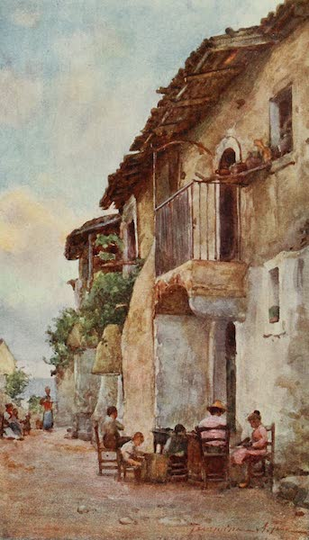 Sicily, Painted and Described - Old Houses, Taormina (1911)