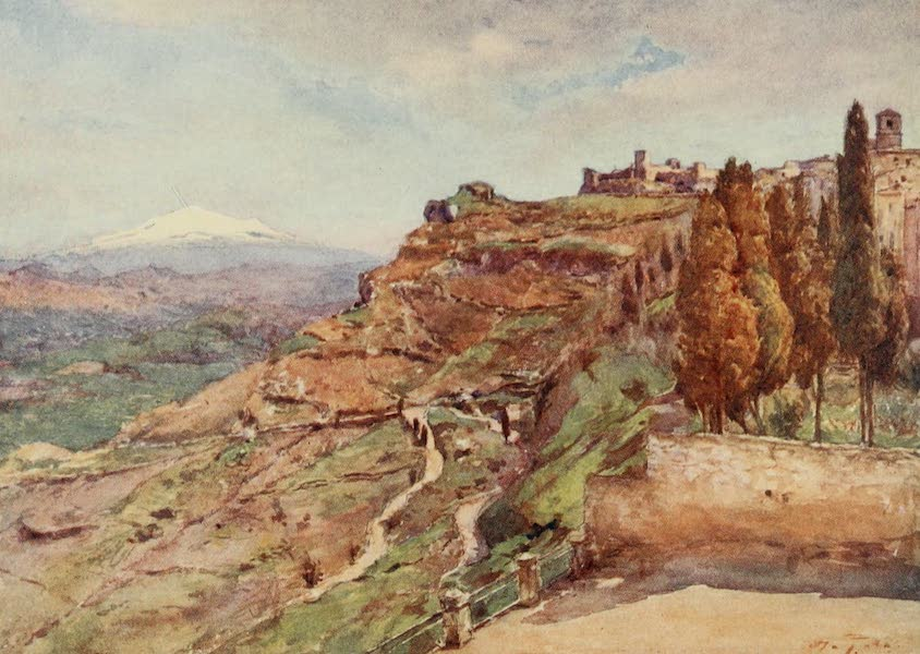 Sicily, Painted and Described - Castrogiovanni (1911)