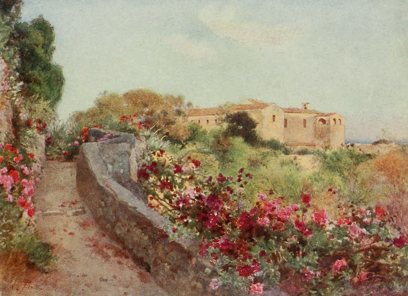Sicily, Painted and Described - Convent of the Capuccini from Villa Politi, Syracuse (1911)