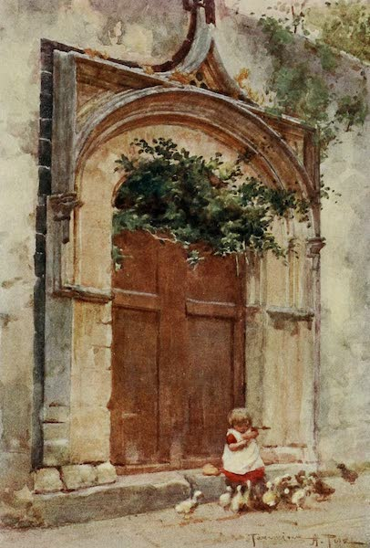 Sicily, Painted and Described - Gateway at Taormina (1911)