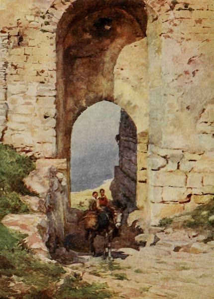 Sicily, Painted and Described - Porta Spada, Monte San Giuliano (1911)