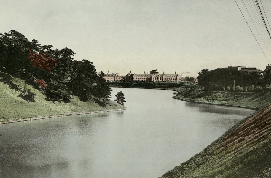 Overlooking the Imperial Palace Moat