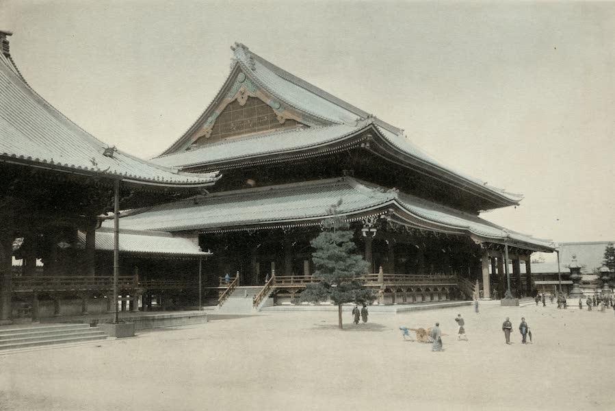 Sights and Scenes in Fair Japan - The Higashi Honganji - A Buddhist Temple at Kyoto (1910)