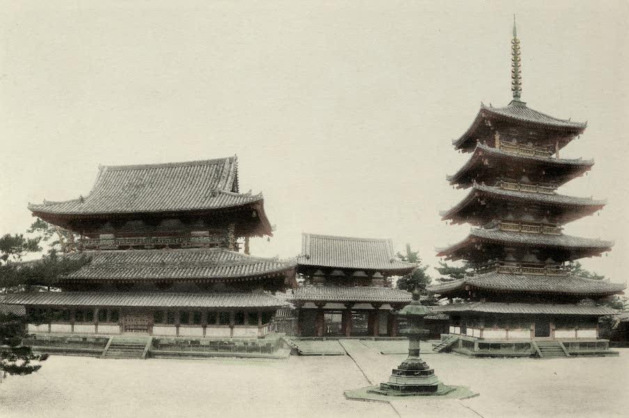 Sights and Scenes in Fair Japan - Horyuji - A Seven Century Temple near Nara (1910)