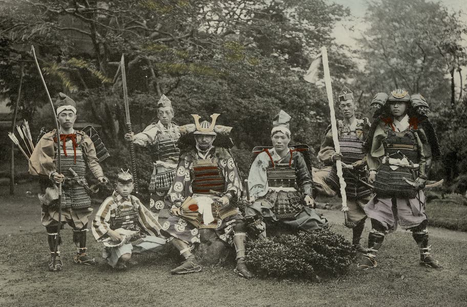 Sights and Scenes in Fair Japan - Armour and Weapons of Ancient Warriors (1910)