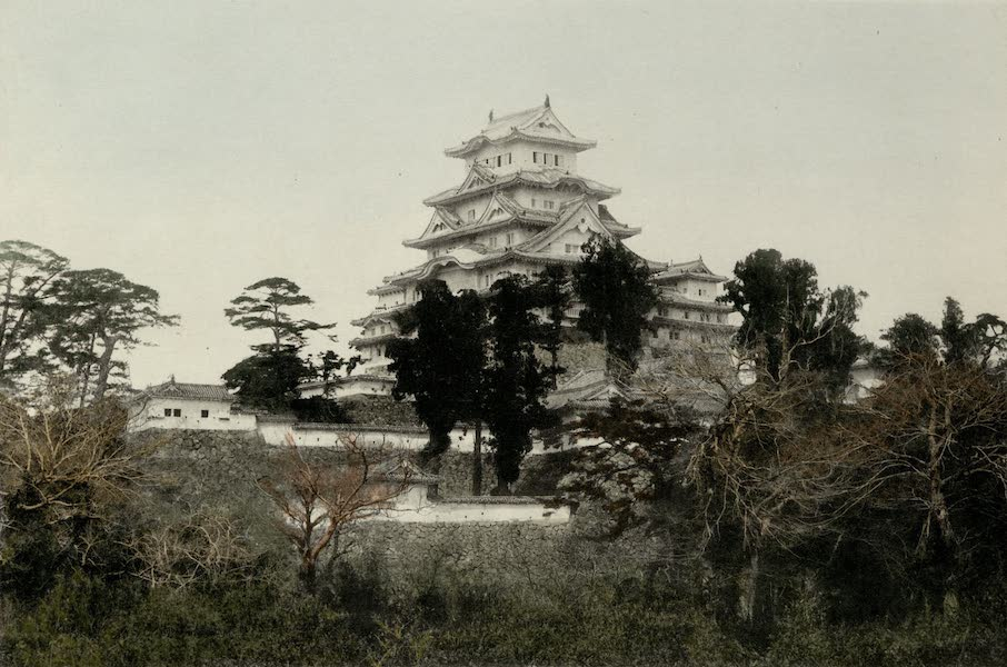 Sights and Scenes in Fair Japan - Feudal Castle at Himeji (1910)