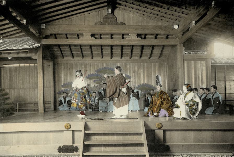 Sights and Scenes in Fair Japan - The No - A Dramatic Performance of a Classical Nature (1910)